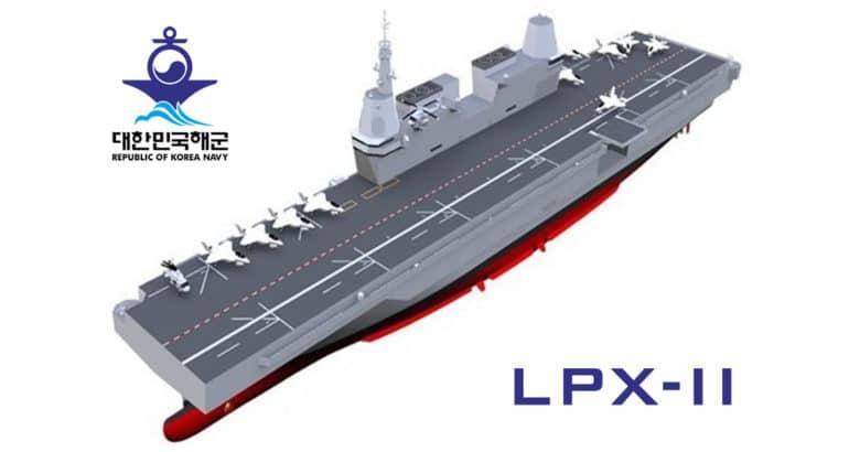 ROK Navy LPX-II aircraft carrier