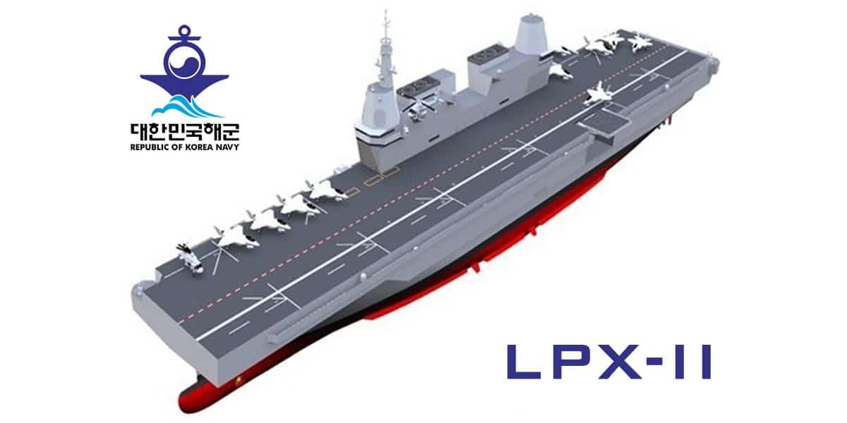 ROK Navy's LPX-II Will Be an F-35B Light Aircraft Carrier - Not an ...
