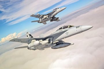 Raytheon-built NGJ-MB takes to the skies for EA-18G Growler flight testing