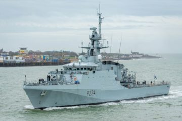 River-Class Batch 2 OPV 'HMS Trent' Commissioned With Royal Navy