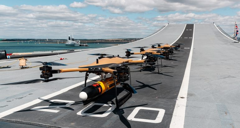 Royal Navy Shows Commitment to Drone Technology for Future Operations