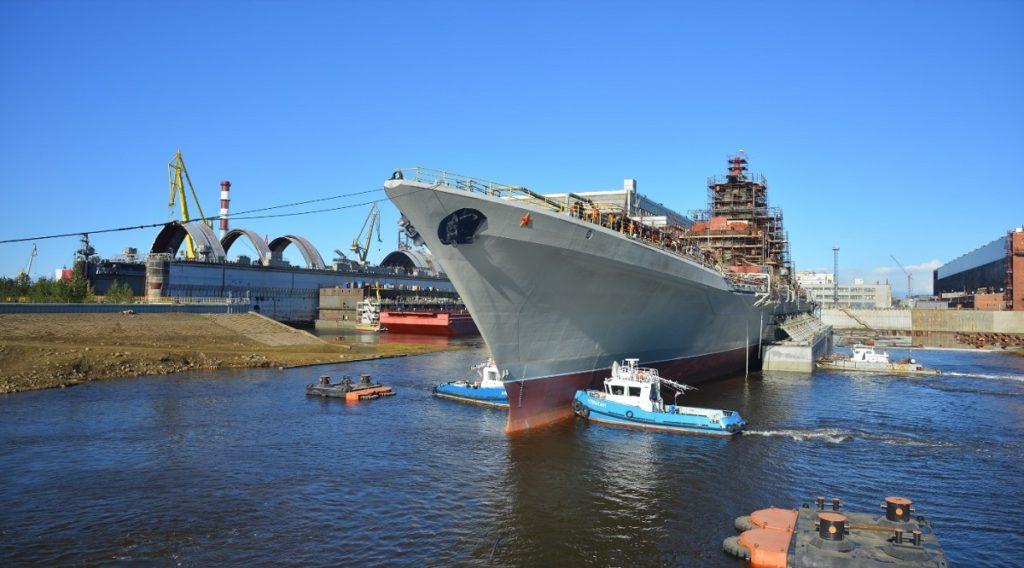Russian Navy Kirov-class Cruiser Admiral Nakhimov