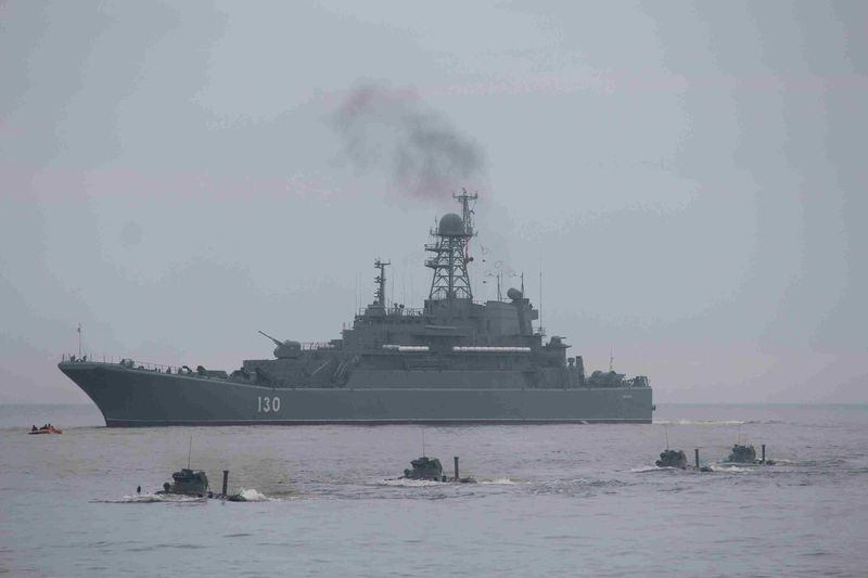 Russian naval forces start Ocean Shield 2020 drills in Baltic Sea