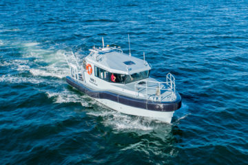 Paramount launches first of three Survey Motor Boats for South African Navy