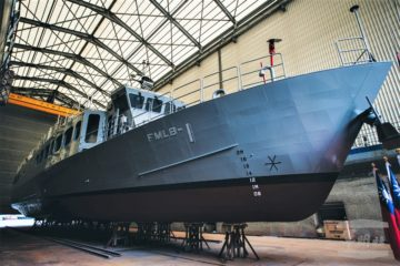 Taiwan Launches 1st Mine Laying Ship for ROC Navy