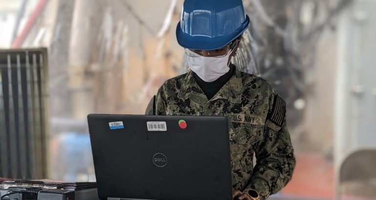 U.S. Navy's Damage Control Team Delivers Software to Help Mitigate COVID-19 Spread in the Fleet
