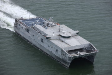 Austal USA Delivers 12th Spearhead-class Expeditionary Fast Transport (EPF) ship to U.S. Navy