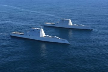 U.S. Navy's Zumwalt-class Destroyers Enter the 2020s