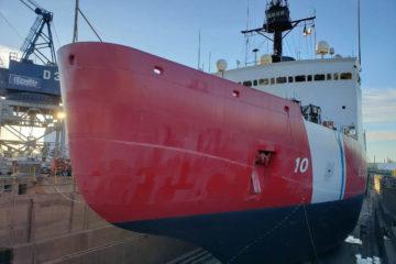 USCGC's Polar Star's FY2020 Dry Dock