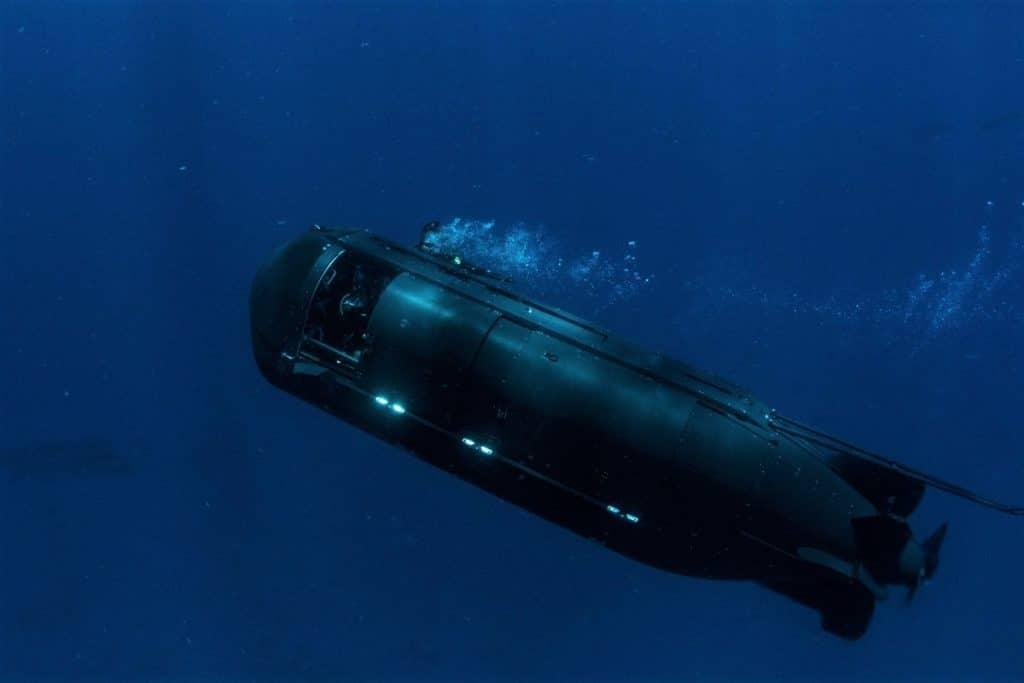 New SDV MK 11 undergoing sea trials