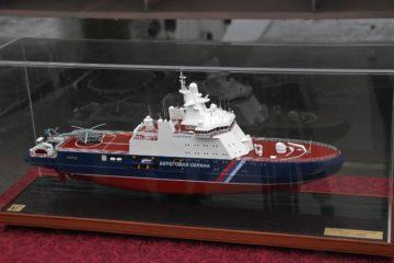 Vyborg Shipyard Lays Keel of Project 23550 Icebreaker for Russian Coast Guard