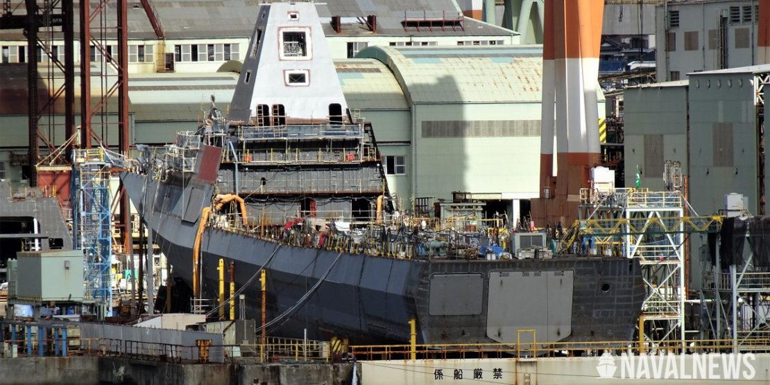 30FFM Japan's Next Generation Frigate Taking Shape