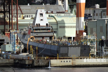 30FFM: Japan's Next Generation Frigate Taking Shape at Two Shipyards