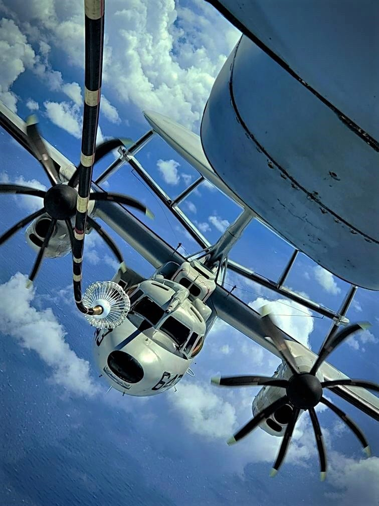 Aerial Refueling for E-2D