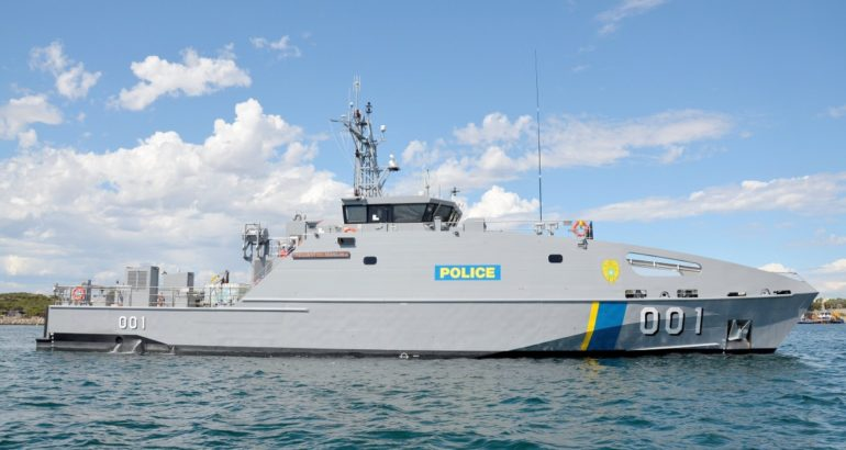 Austal Delivers 7th Guardian-class Patrol Boat Palau