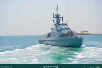 CMN Hands Over 2nd and 3rd Batches of HSI32 Interceptors to Royal Saudi Navy