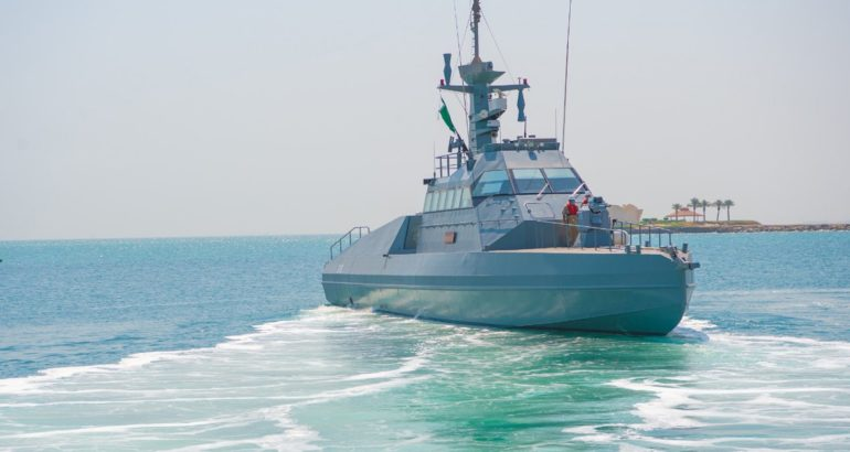 HSI 32 Interceptor built by CMN for the Royal Saudi Navy
