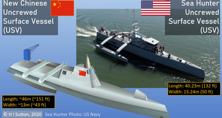 Chinese Navy Unmanned Surface Vessel (USV)