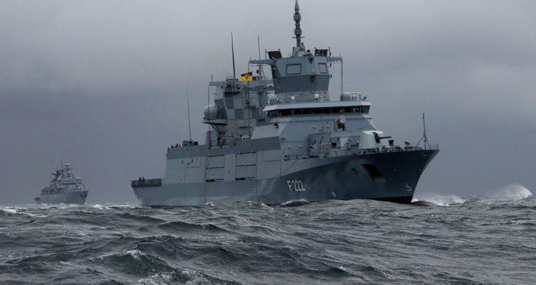 Deutsche Marine Baden-Württemberg F125-class frigate