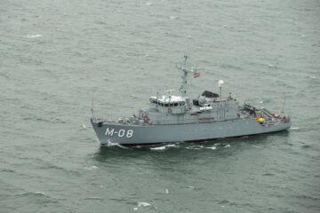 ECA Group Passes A New Milestone In The Latvian Navy's MCM Vessels Modernization