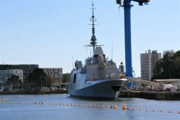 French Navy's First FREMM DA 'Alsace' to Start Sea Trials in Early October