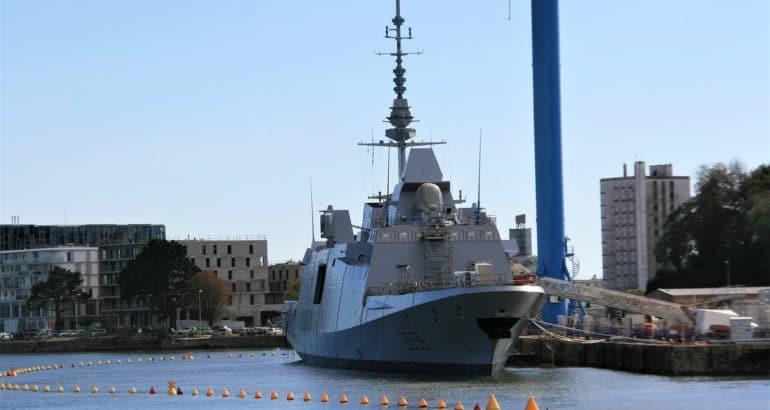 French Navy's First FREMM DA 'Alsace'
