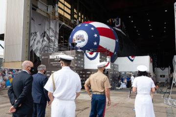 Huntington Ingalls christens future USS Montana (SSN 794) attack submarine