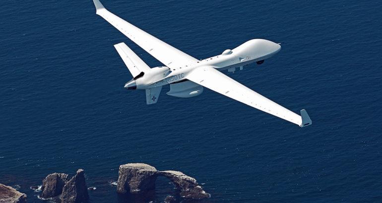 MQ-9B Seaguardian over Southern California