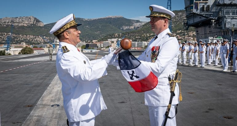 New Chief of Staff for the French Navy