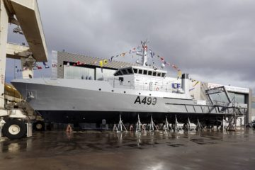 OCEA Launches New Hydrographic Research Vessel 'Lana' for Nigerian Navy