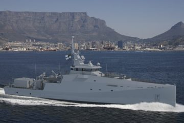 Damen Shipyards Cape Town lays keel on second Project BIRO IPV