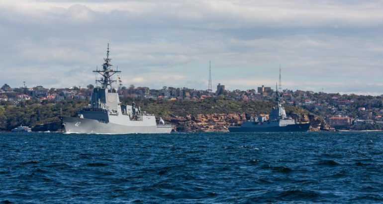 RAN Hobart-class Destroyers Set for Aegis Combat System Upgrade