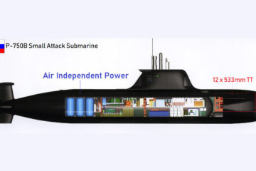 Russia's P-750B Small Attack Submarine Design by Malakhit Design Bureau – Part 2