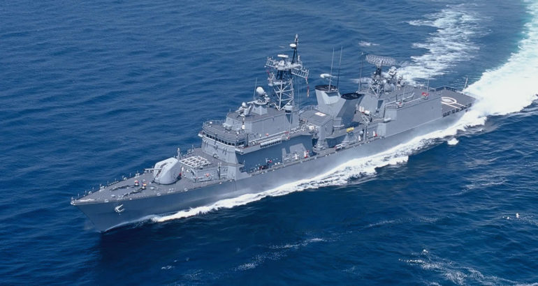 South Korea's DSME Delivers First KDX-I to ROK Navy Following PIP
