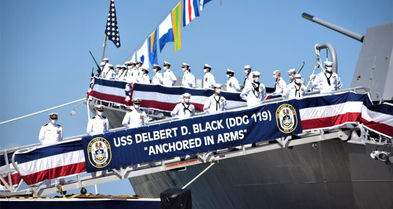 USS Delbert D. Black - DDG 119 Commissioning Ceremony