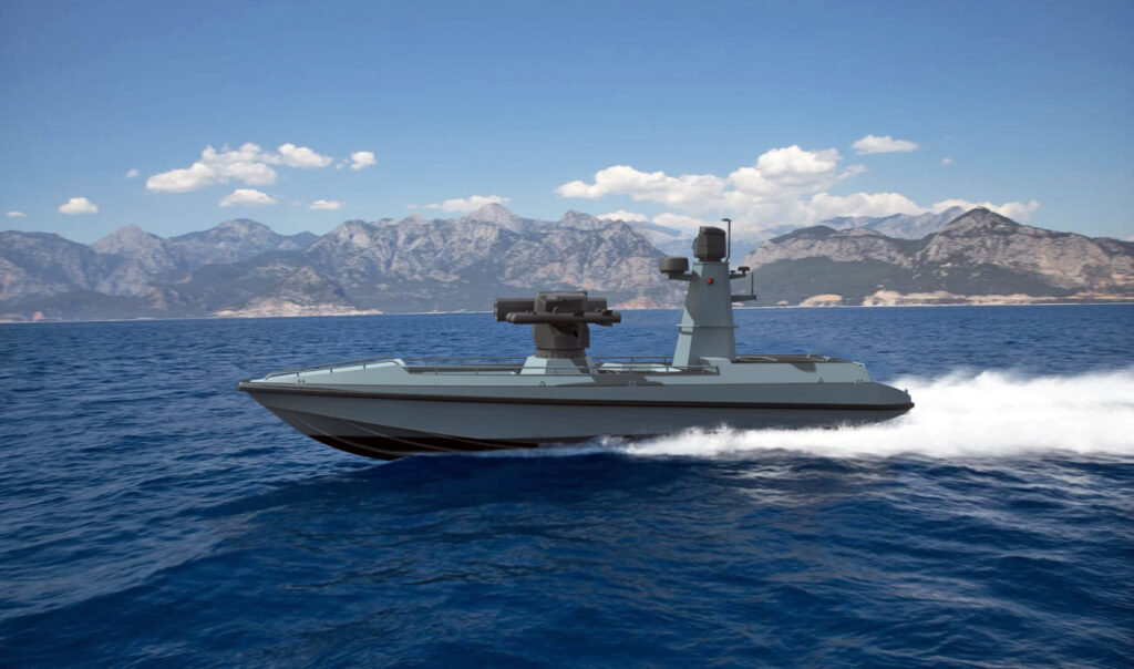 ARES Shipyard and METEKSAN Unveil Turkey's First Armed USV