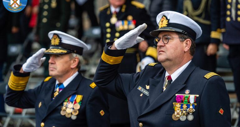 Admiral Jan De Beurme is the Belgian Navy's new commander