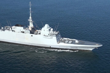 "Euronaval Video: Naval Group Starts Sea Trials of Air Defense FREMM ""Alsace"""