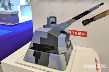 Are the future French Navy OPVs set to get the new RAPIDFire 40mm naval gun system ?