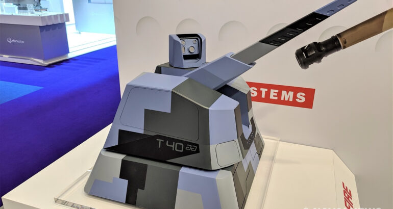 Are the future French Navy OPVs set to get the new RAPIDFire 40mm naval gun system