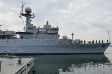 Colombian Navy's Pohang-class Corvette Begins Journey to Colombia