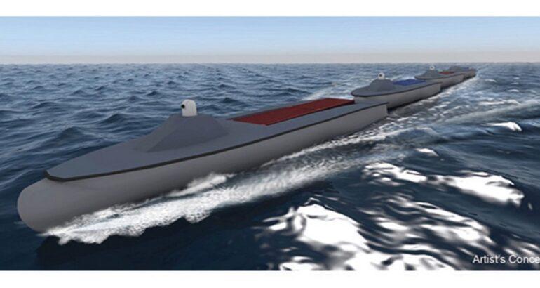 DARPA Sea Train