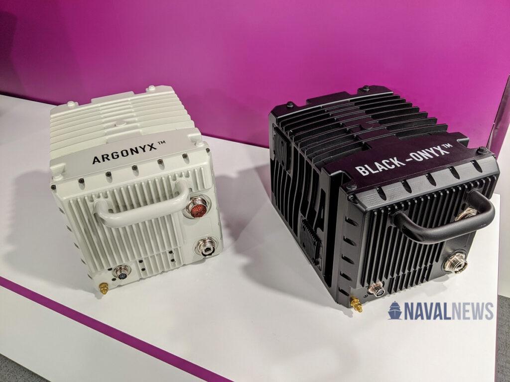 Euronaval Safran's Argonyx and Black-Onyx naval inertial navigation systems