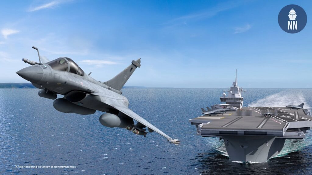 Euronaval Video General Atomics on EMALS milestones and France's future Aircraft Carrier PANG