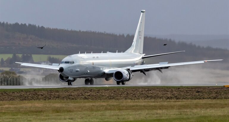 First 3 RAF Poseidon MPA are Now at their Lossiemouth Home Base in Scotland