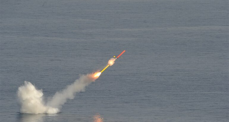 NCM firing qualification at Levant island in France