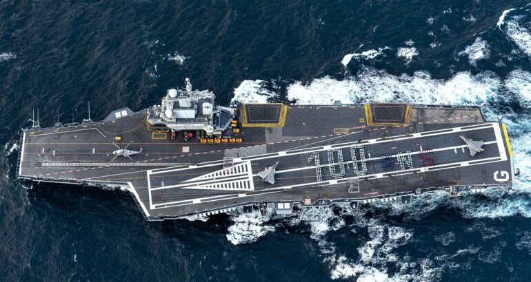 French Navy Celebrated 100 Years of Carrier Aviation
