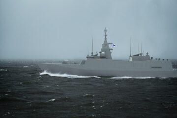 North Sea Handling to Supply Finnish Navy Corvettes with Weapons and Vehicle Access Equipment
