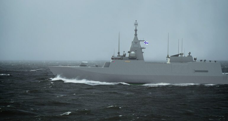 GE to Provide LM2500 Gas Turbines for Finnish Navy's Pohjanmaa-class Corvettes