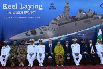 Karachi Shipyard Lays Keel Of Pakistan Navy' Second MILGEM-Class Corvette
